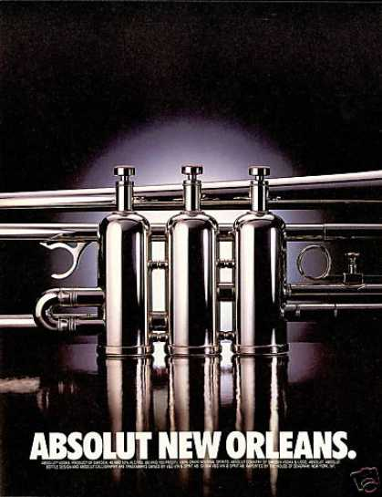 Absolut Vodka New Orleans Jazz (1994)