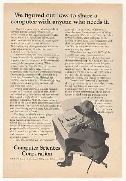 Computer Sciences Corp Time-Sharing Sys Mountie (1967)