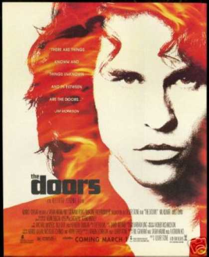The Doors Jim Morrison Photo Movie Promo (1991)