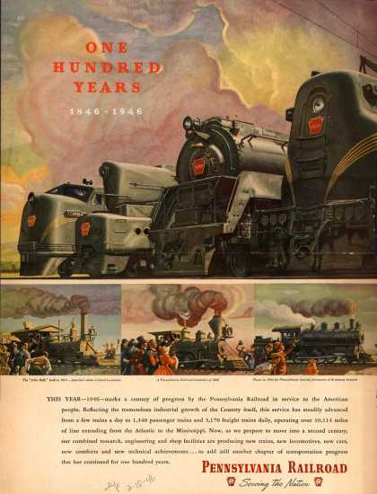 Pennsylvania Railroad – One Hundred Years (1946)