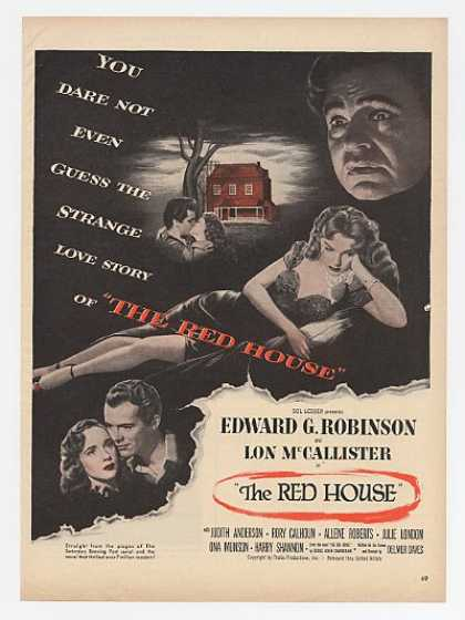 EG Robinson Lon McCallister The Red House Movie (1947)