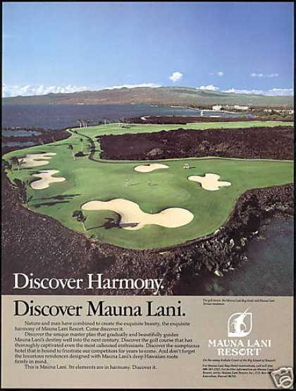 Hawaii Mauna Laui Resort Hotel Golf (1984)