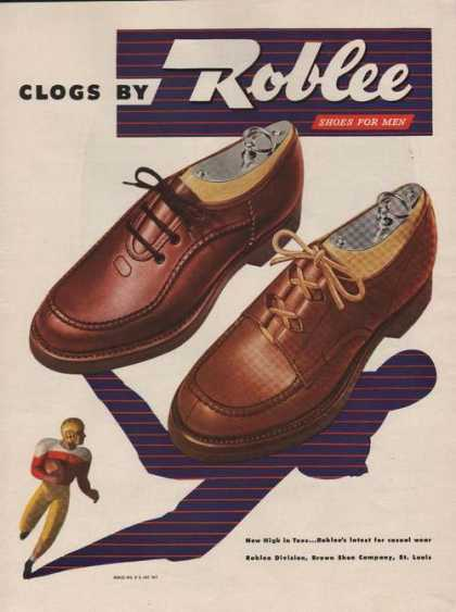 Clogs By Roblee Shoes for Men (1946)