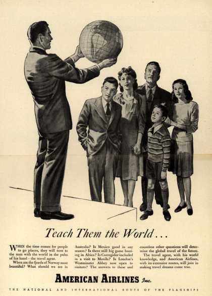 American Airlines – Teach Them the World (1944)