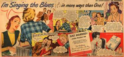 Woodbury's Facial Soap – I'm Singing the Blues in more ways than one (1949)