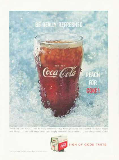 Coke Coca Cola Fountain Glass (1959)