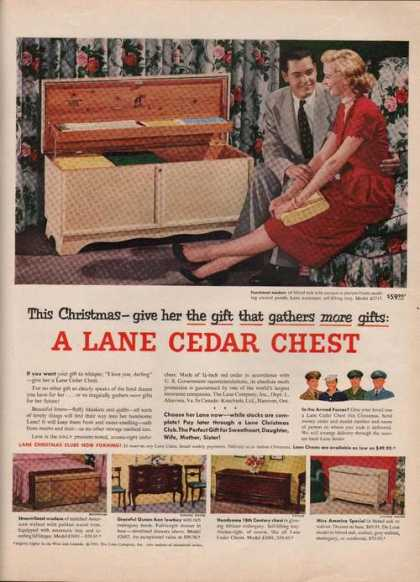 This Christmas Lane Cedar Chest (1951)