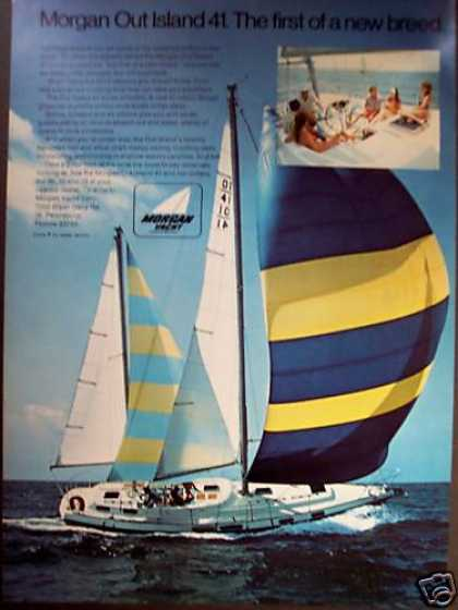 Morgan Out Island 41 Sailboat Yacht Boat (1972)