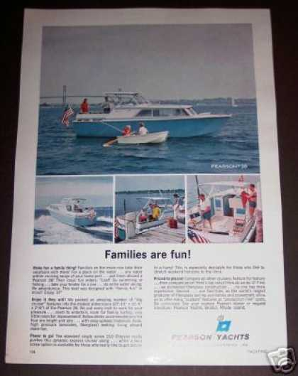 Original Pearson 28 Yacht Boat Photo (1965)