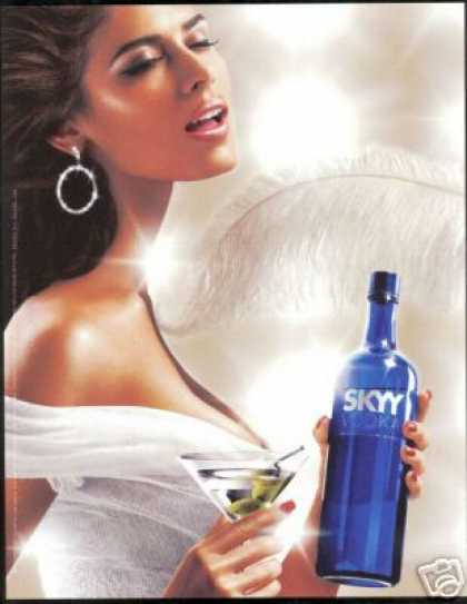 Sexy Woman Photo Skyy Vodka Martini (2006)