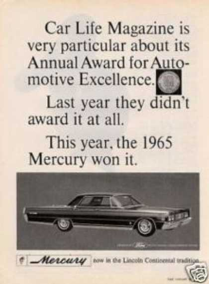 Mercury Car (1965)