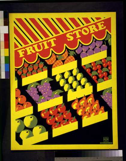 Fruit store. (1936)