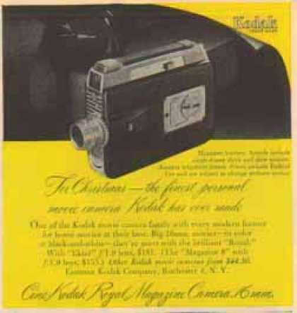 Kodak Camera – Royal Magazine Camera 16mm (1951)