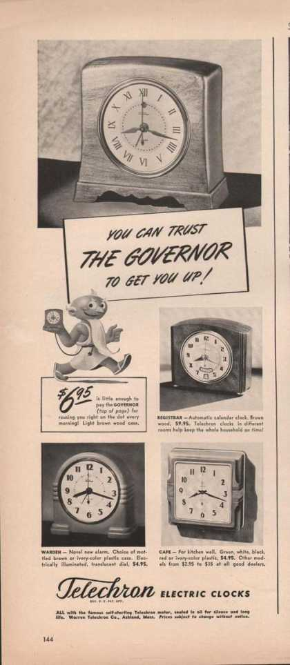 Telechron Electric Clocks (1941)