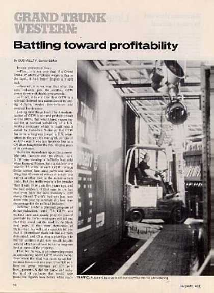"""Battling Toward Profitability""A (1975)"