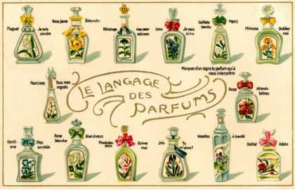 French Perfume Language