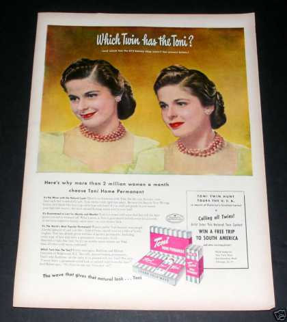 Which Twin Has the Toni?, Hair Ex (1949)