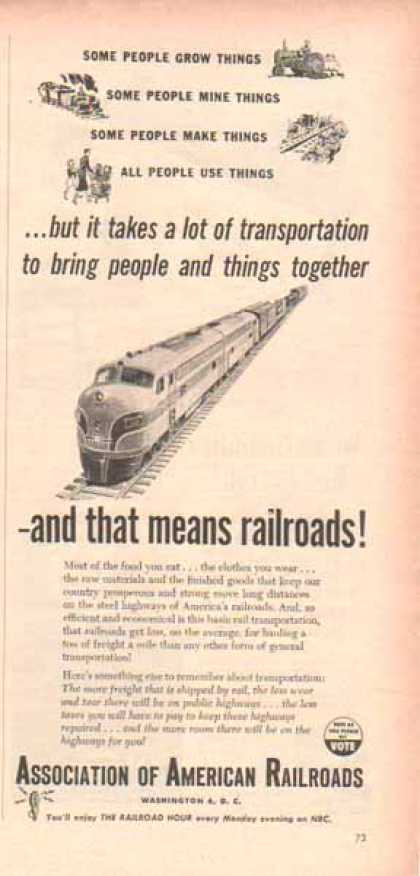 Association of American Railroads (1952)