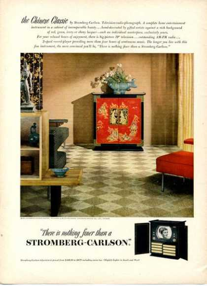Stromberg- Carlson Tv Television Chinese (1951). # | » via | buy at eBay