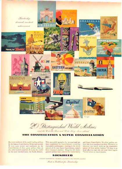 Lockheed Aircraft 's – The World's Airlines Fly Constellation (1950)