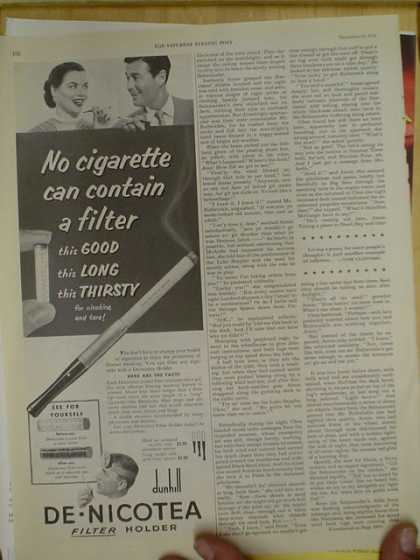 Di-Nocotea Cigarette holder (1952)