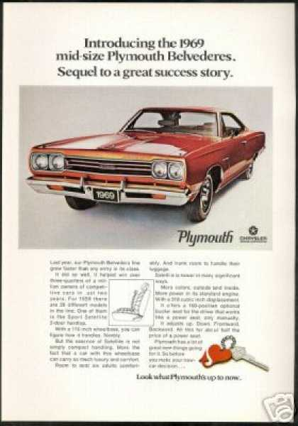 Plymouth Belvedere Vintage Photo (1969)