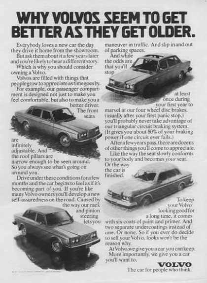 Volvo Car – Why Volvos seem to get better as they get older (1977)