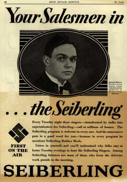 Seiberling Rubber CO.'s Seiberling radio show – Your Salesmen in... the Seiberling (1928)