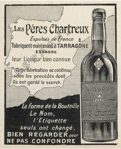 Charteuse Advert (1906)