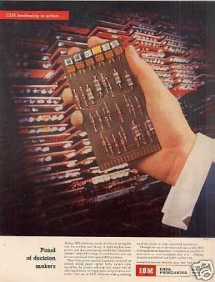 Ibm Electronic Panels (1955)