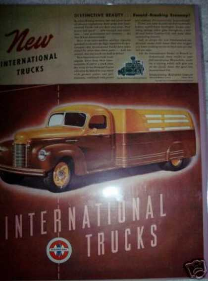 International K-line Trucks Color (1941)