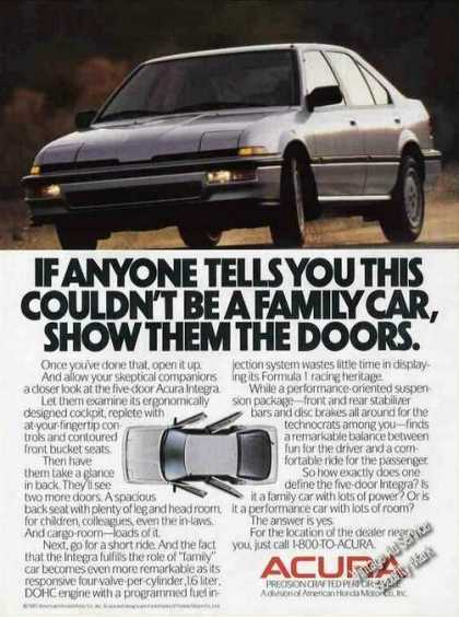 "Acura ""Show Them the Doors"" Family Car (1988)"