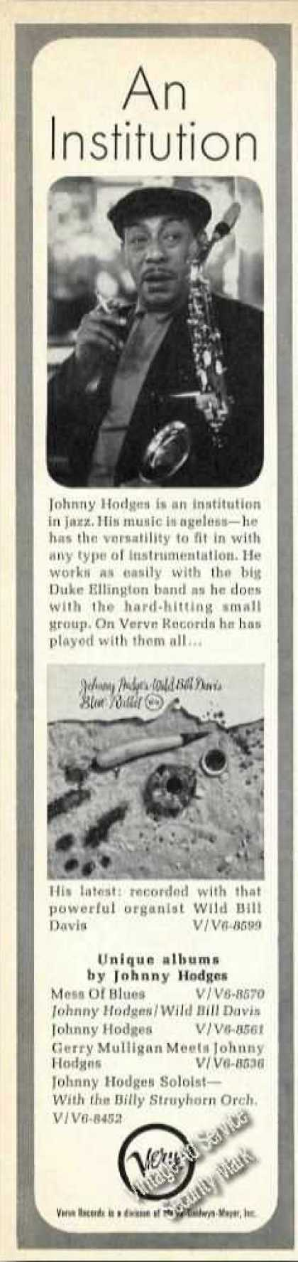 Johnny Hodges Photo Album Promo Promo (1964)