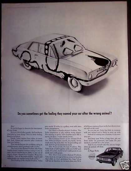 Volvo Car That Looks Like a Dog (1968)