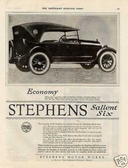 Stephens Salient Six Car (1920)