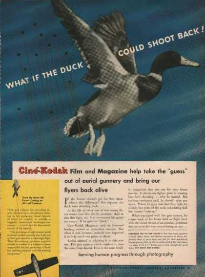 Cine Kodak Film and Magazine Duck (1944)