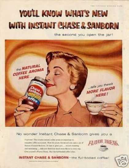 Chase & Sanborn Coffee (1957)