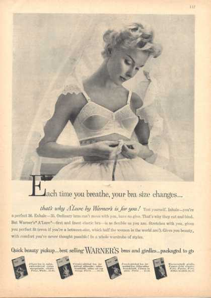 Warner's A'lure Flexible Bra (1957)
