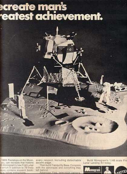 Monogram's First Lunar Landing Kit (1970)