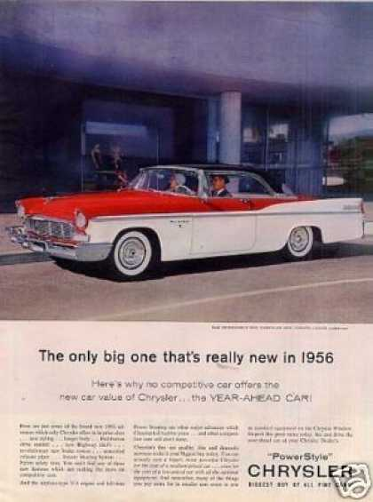 Chrysler New Yorker 2-door Car (1956)