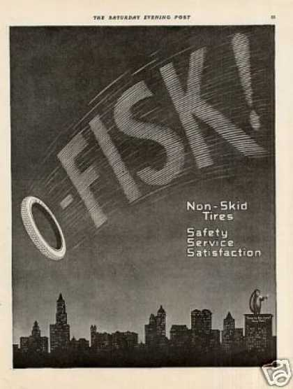 Fisk Tire (1916)
