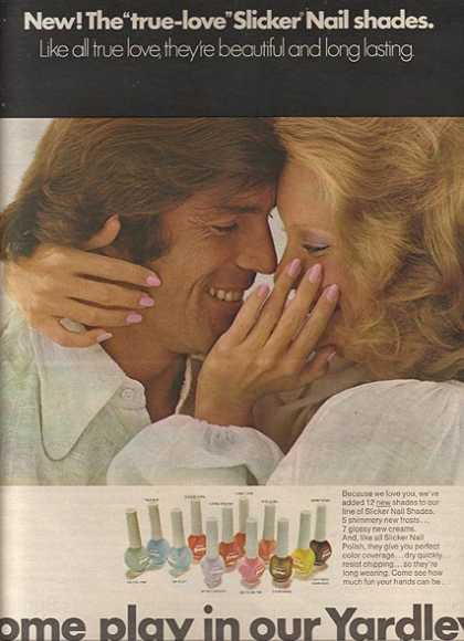 Yardley's Slicker Nail Shades (1974)