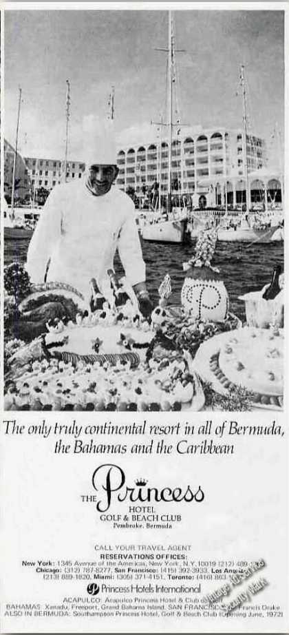 The Princess Hotel Bermuda Photo Travel (1971)