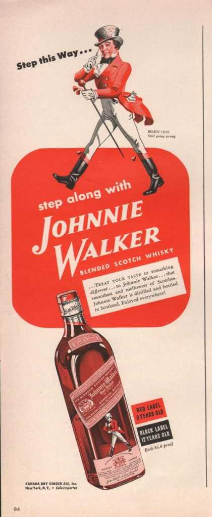 Step Along With Johnnie Walker Scotch (1942)