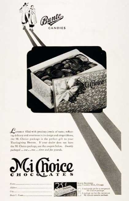 Mi Choice Chocolates (1929)
