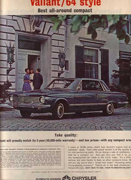 Chrysler's Plymouth Valiant/ Duster/ Barracuda (1963)