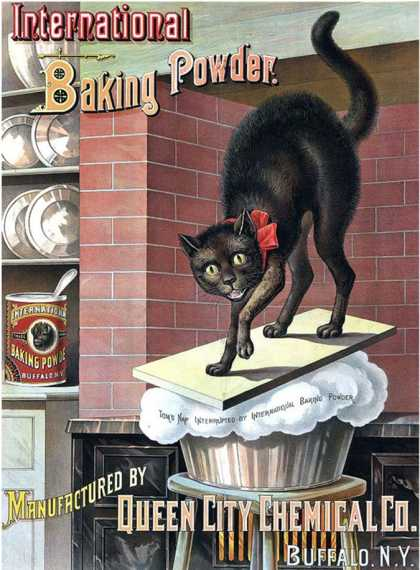 Black Cat Baking Powder