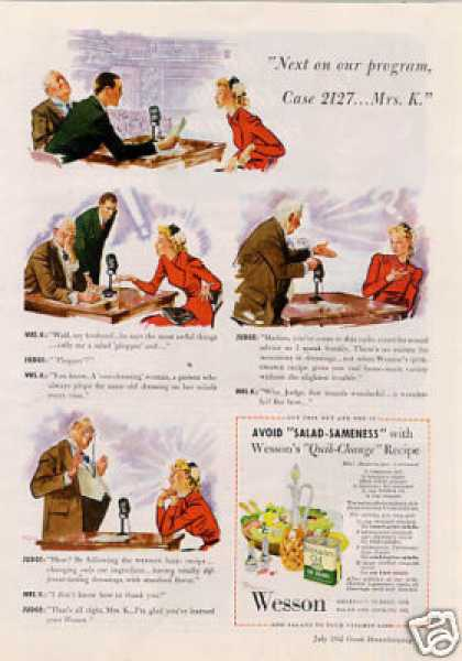Wesson Oil (1942)