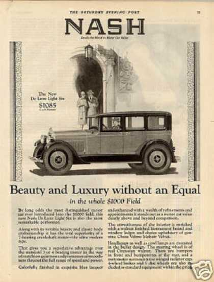 Nash Deluxe Light Six Car (1927)