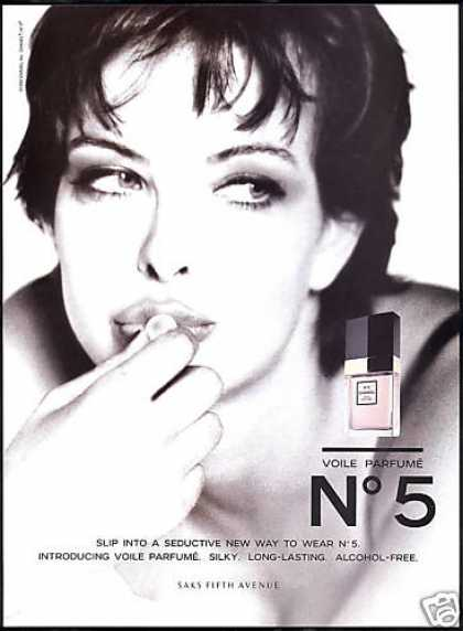 Chanel No 5 Voile Perfume Photo (1995)